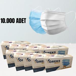 10000 Adet Cerrahi Maske